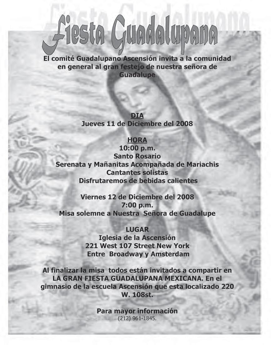 Mexicanos Unidos: 12 de Diciembre. Celebración de la aparición de la ...